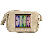 Drag Diva SisterFace Circa 1990 Messenger Bag