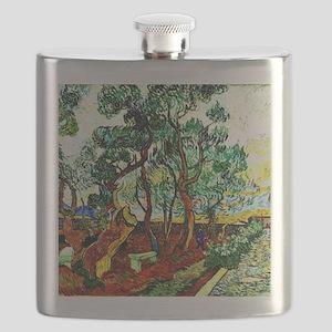 Van Gogh - The Garden of St. Paul's Hospital Flask