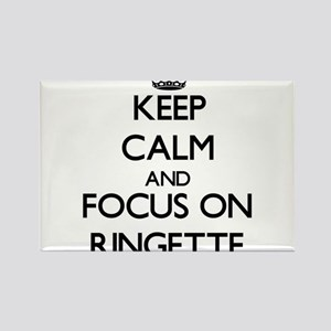 Keep calm and focus on Ringette Magnets