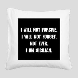 Sicilian Square Canvas Pillow