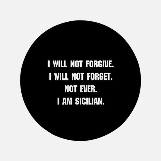 """Sicilian 3.5"""" Button"""