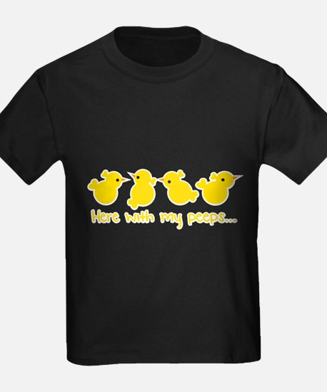Here with my PEEPS little chickens! T-Shirt