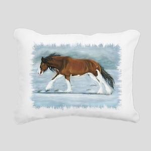 Clydesdale Rectangular Canvas Pillow