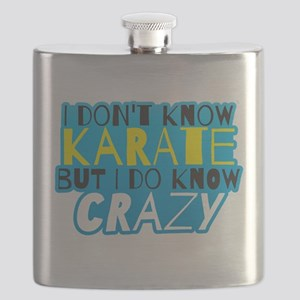 I dont know KARATE but I do know CRAZY! Flask