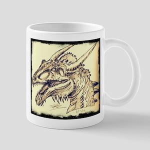 Penciled Dragon Mugs