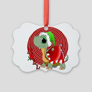 Noel Turtle Ornament