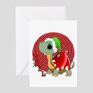 Noel Turtle Greeting Cards