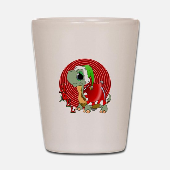Noel Turtle Shot Glass