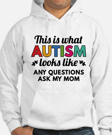 Autism Looks Like Jumper Hoody