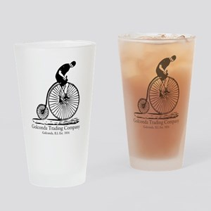 Vintage Cyclist Golconda Drinking Glass