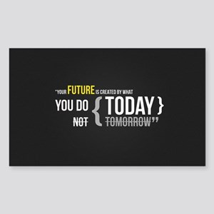 Motivational Quotes Sticker (Rectangle)