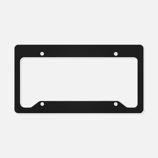 Motivational Quotes License Plate Holder