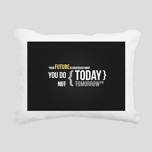 Motivational Quotes Rectangular Canvas Pillow