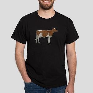 Golden Guernsey cow Dark T-Shirt
