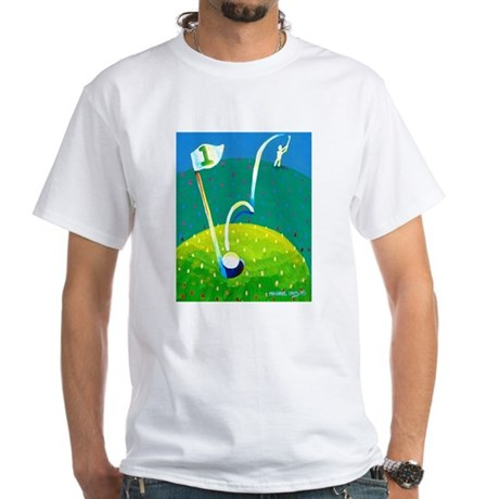 'Hole in One!' White T-Shirt