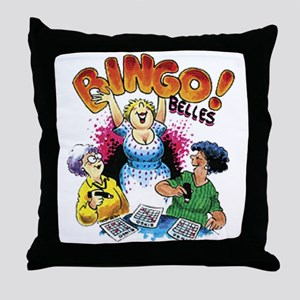 Bingo Belles Throw Pillow