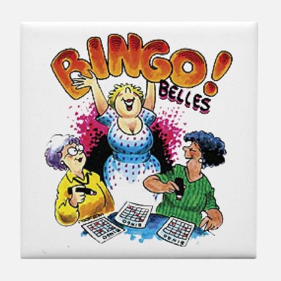 Bingo Belles Tile Coaster