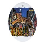 Tiger Roar Ornament (Oval)