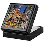 Tiger Roar Keepsake Box