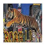 Tiger Roar Tile Coaster