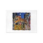 Tiger Roar 5'x7'Area Rug