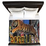 Tiger Roar King Duvet