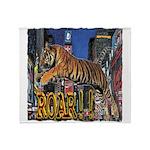 Tiger Roar Throw Blanket