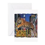Tiger Roar Greeting Cards