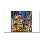 Tiger Roar Car Magnet 20 x 12