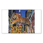 Tiger Roar Sticker