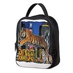 Tiger Roar Neoprene Lunch Bag