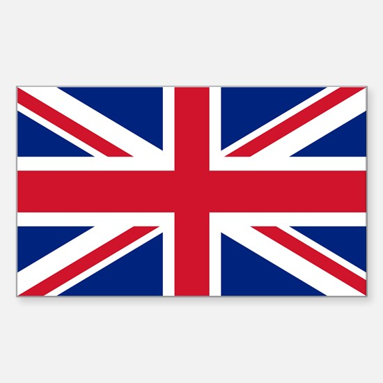 UK Flag Sticker (Rectangle)