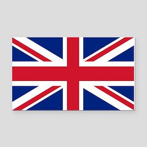 UK Flag Rectangle Car Magnet