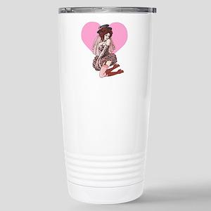 Pink Cotton Candy Cabaret Travel Mug