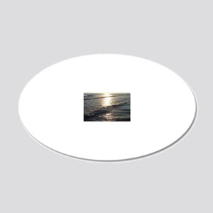 Sunrise 20x12 Oval Wall Decal