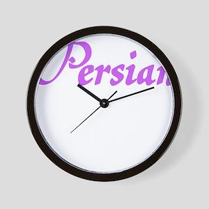 PERSIAN Wall Clock