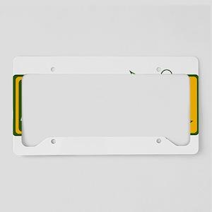 Australian soccer design License Plate Holder