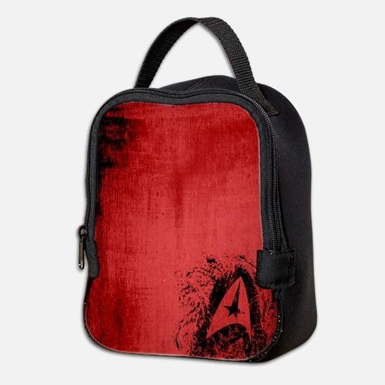 Star Trek Insignia Art (Red) Neoprene Lunch Bag