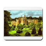 Compton Wynyates Topiary Garden Painting Mousepad