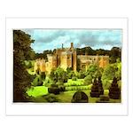 Compton Wynyates Topiary Garden Painting Posters