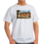 Compton Wynyates Colorized Antique Etching T-Shirt