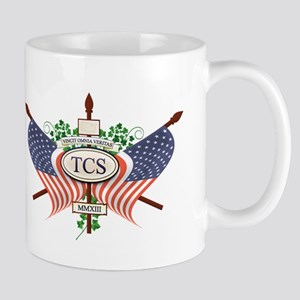 TCS News Logo Mugs