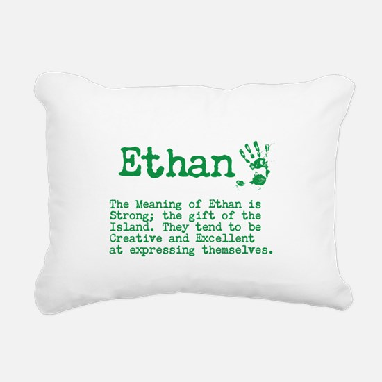 The Meaning of Ethan Rectangular Canvas Pillow