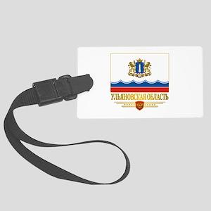 Ulyanovsk Oblast Flag Luggage Tag