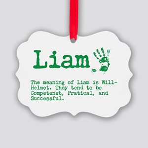 The Meaning of Liam Ornament