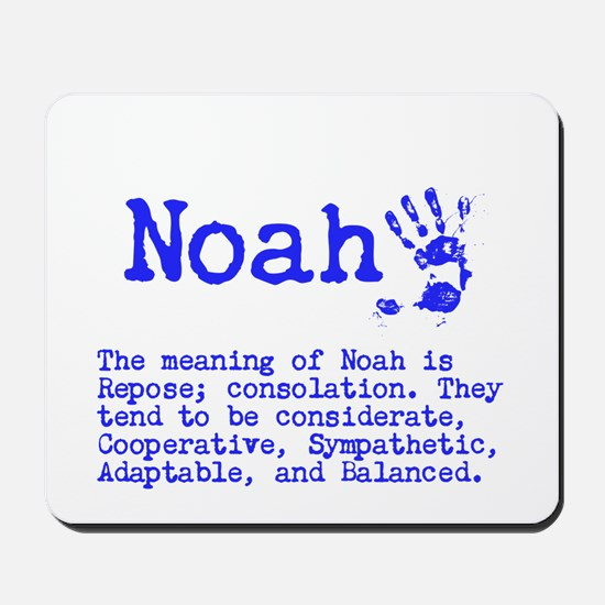 The Meaning of Noah Mousepad