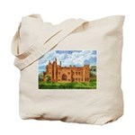 Compton Wynyates Painting of Antique Etching Tote