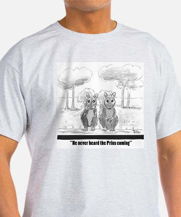 squirrel vs. Prius T-Shirt