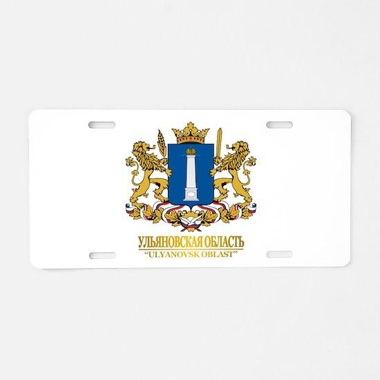Ulyanovsk Oblast COA Aluminum License Plate