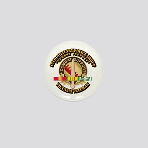 16th Military Police Group w SVC Ribbon Mini Butto